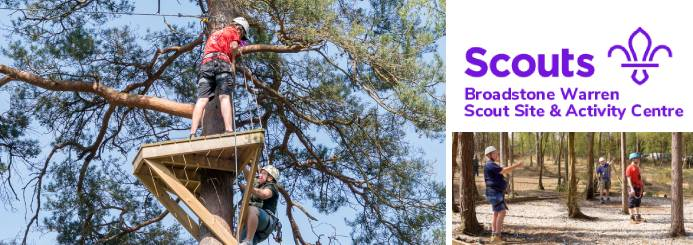 adventure jobs with Broadstone Warren Scout Camp & Activity Centre