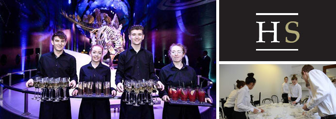 Flexible Event Bar and Waiting Staff in London