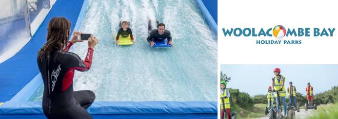 adventure jobs with Woolacombe Bay Holiday Parks